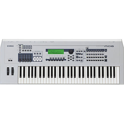 Yamaha MO6 61-Key Music Production Synthesizer Workstation with DAW Control-thumbnail