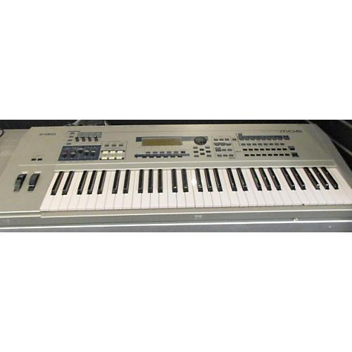 Yamaha MO6 61 Key NICKEL Keyboard Workstation-thumbnail
