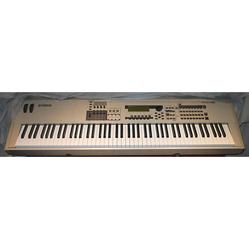 Used yamaha mo8 88 key keyboard workstation guitar center for Yamaha 88 keyboard