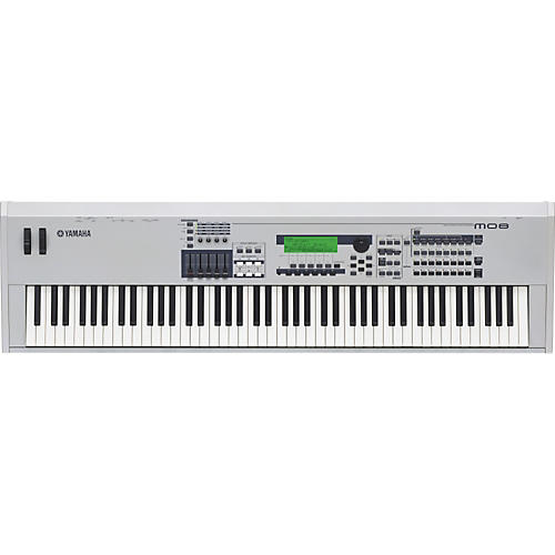 Yamaha MO8 88-Key Music Production Synthesizer Workstation with DAW Control-thumbnail