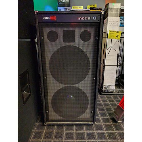 Sunn MODEL 3 Unpowered Speaker