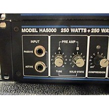 Hartke MODEL HA5000 Bass Amp Head