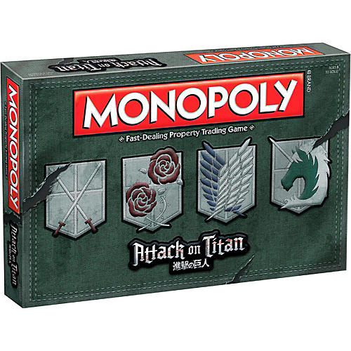 USAOPOLY MONOPOLY: Attack on Titan