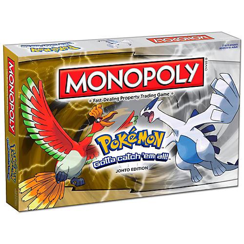 USAOPOLY MONOPOLY: Pokemon Johto Edition