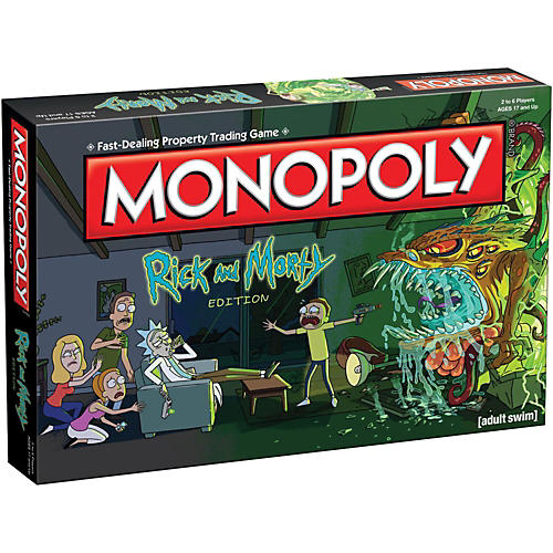 USAOPOLY MONOPOLY: Rick and Morty