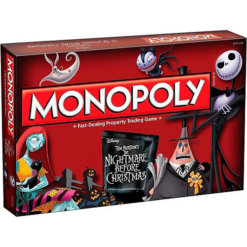 USAOPOLY MONOPOLY: Tim Burton's The Nightmare Before Christmas