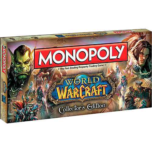 USAOPOLY MONOPOLY: World of Warcraft-thumbnail