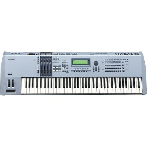 Yamaha MOTIF ES7 76-Key Music Production Synthesizer-thumbnail