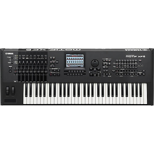 Yamaha MOTIF XF6 61-Key Music Production Synthesizer