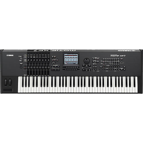 Yamaha MOTIF XF7 76-Key Music Production Synthesizer-thumbnail