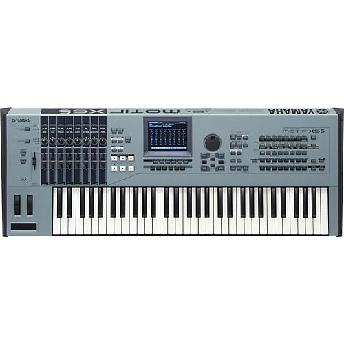 Yamaha MOTIF XS6 Music Production Synthesizer Workstation Keyboard