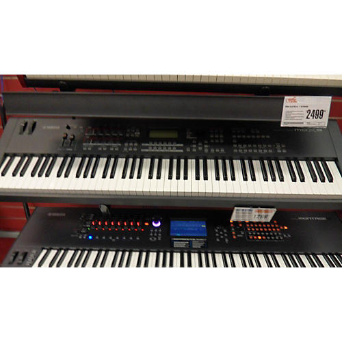 used yamaha mox8 88 key keyboard workstation guitar center