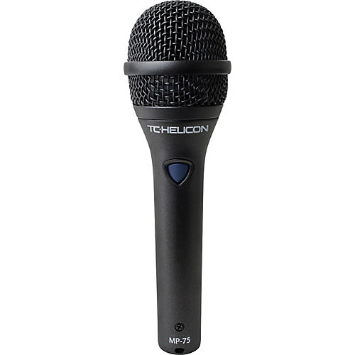 TC Helicon MP-75 Dynamic Handheld Microphone with Helicon Control Switch-thumbnail