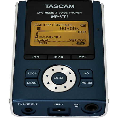 Tascam MP-VT1 Portable MP3 Vocal Trainer-thumbnail