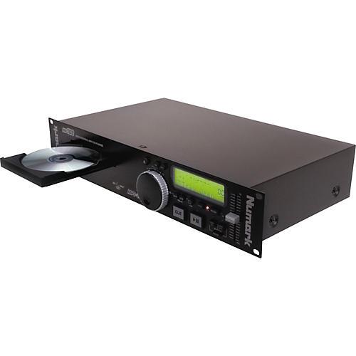 Numark MP102 Single MP3 CD Player with XLR Balanced Outs-thumbnail