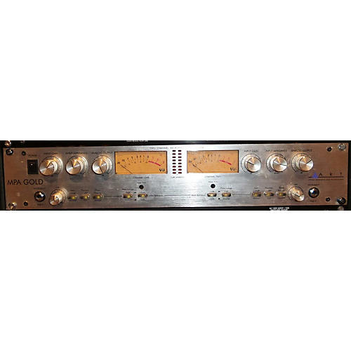 Art MPA GOLD 2 Channel Microphone Preamp