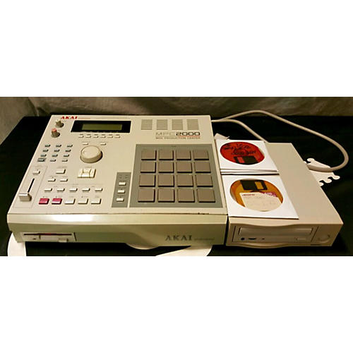 Akai Professional MPC2000 W/8OUTS AND SCSI CD ROM Production Controller-thumbnail