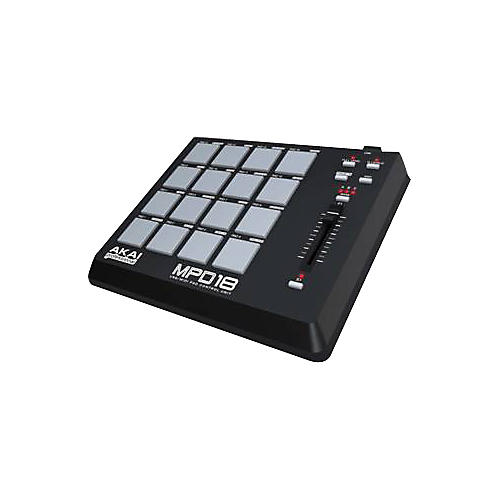 akai professional mpd18 usb midi pad controller guitar center. Black Bedroom Furniture Sets. Home Design Ideas