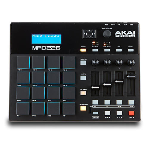 Akai Professional MPD226 Pad Controller-thumbnail