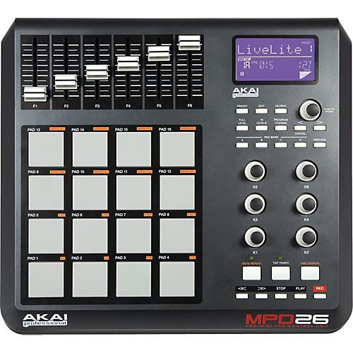 Akai Professional MPD26 Performance Pad Controller-thumbnail