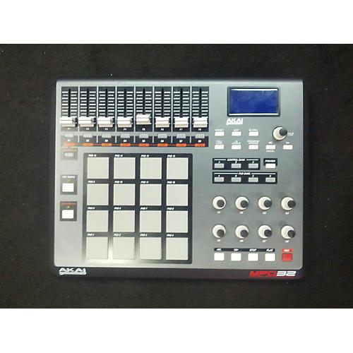 Akai Professional MPD32 Black MIDI Controller