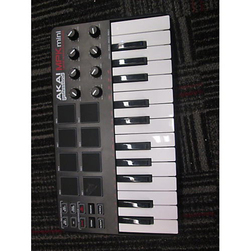 Akai Professional MPK Mini Black MIDI Controller-thumbnail