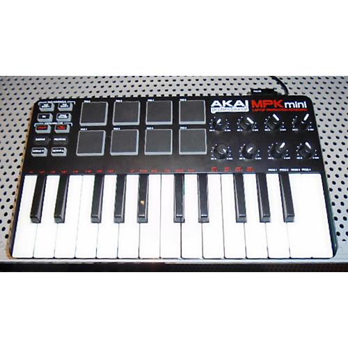Akai Professional MPK Mini Black MIDI Controller