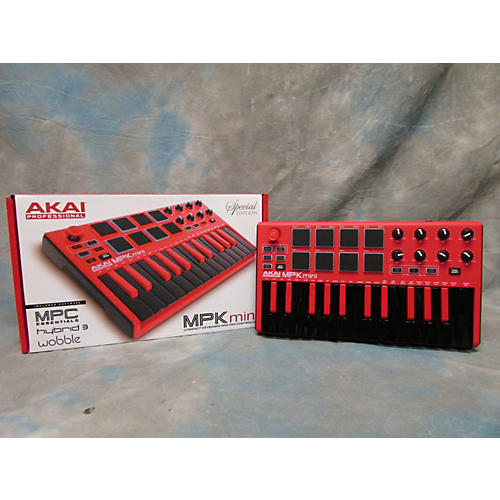 Akai Mini Mk2 Red : used akai professional mpk mini mkii red special edition midi controller guitar center ~ Vivirlamusica.com Haus und Dekorationen