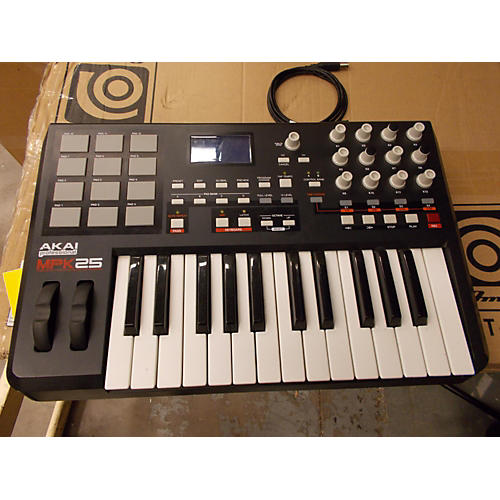 Akai Professional MPK25 25 Key Blk MIDI Controller