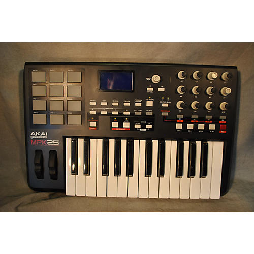 used akai professional mpk25 25 key midi controller guitar center. Black Bedroom Furniture Sets. Home Design Ideas