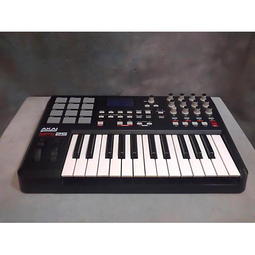 Akai Professional MPK25 25 Key MIDI Controller-thumbnail