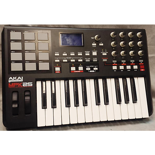 Akai Professional MPK25 MIDI Controller-thumbnail