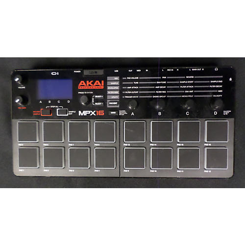Akai Professional MPX16-thumbnail