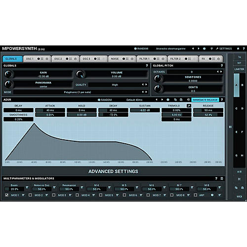 MeldaProduction MPowerSynth Software Download
