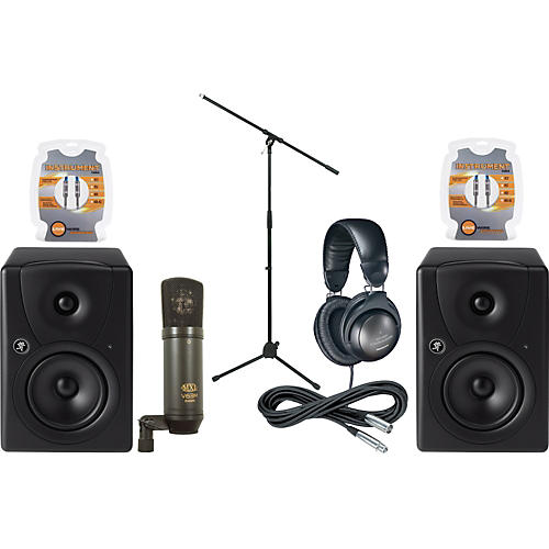 Musician's Friend MR5 Monitor & Mic Package-thumbnail