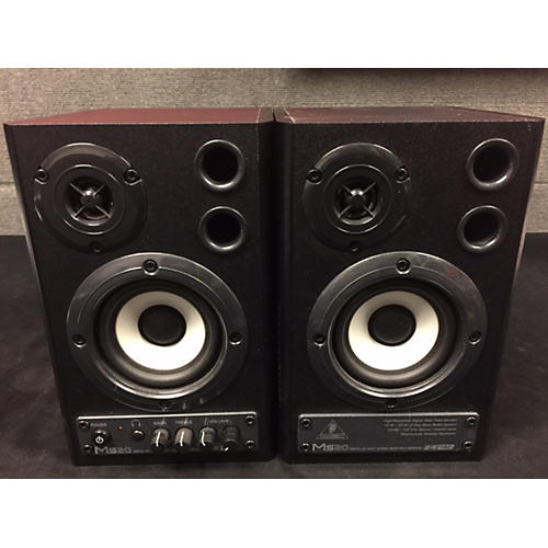 Behringer MS20 Powered Studio Monitor Pair Powered Monitor-thumbnail