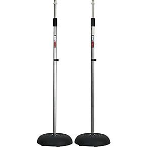 proline ms235cr round base mic stand 2 pack chrome guitar center. Black Bedroom Furniture Sets. Home Design Ideas