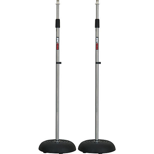 Proline MS235CR Round Base Mic Stand 2 Pack-thumbnail