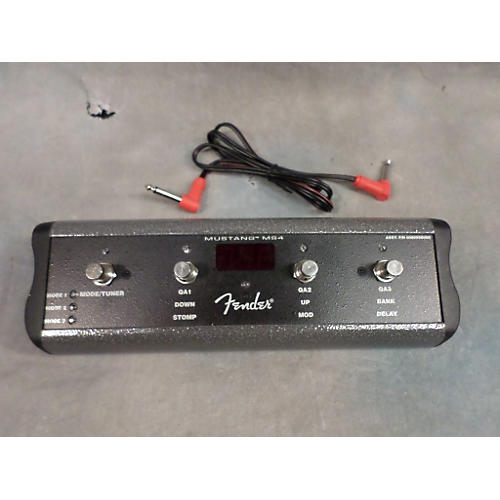 Fender MS4 MUSTANG III FOUR BUTTON SWITCH Footswitch
