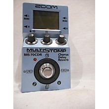 Zoom MS70CDR Effect Processor