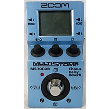 Zoom MS70CDR MULTI STOMP Effect Pedal