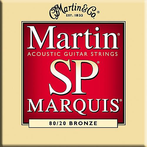 Martin MSP1100 Marquis 80/20 Bronze Light Acoustic Guitar Strings-thumbnail