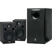 Yamaha MSP3/SW005 Powered Studio Monitor System