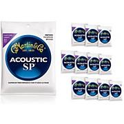 Martin MSP4050 SP Phosphor Bronze Custom Light 12-Pack Acoustic Guitar Strings