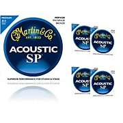 Martin MSP4200 Phosphor Bronze Medium Acoustic Guitar Strings (5 Pack)
