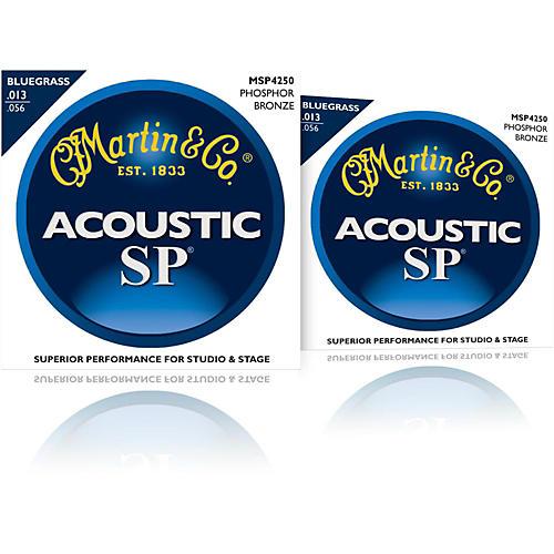 Martin MSP4250 SP Bluegrass Medium 2-Pack Acoustic Guitar Strings