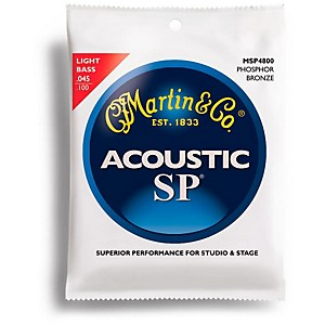 Martin MSP4800 4 String SP Light Acoustic Bass Strings