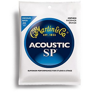 Martin MSP4850 4 String SP Medium Acoustic Bass Strings