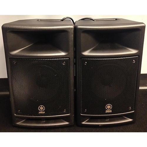 Yamaha MSR100 Speaker Pair Powered Speaker