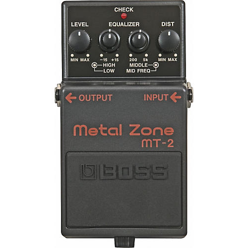 Boss MT-2 Metal Zone Effects Pedal-thumbnail